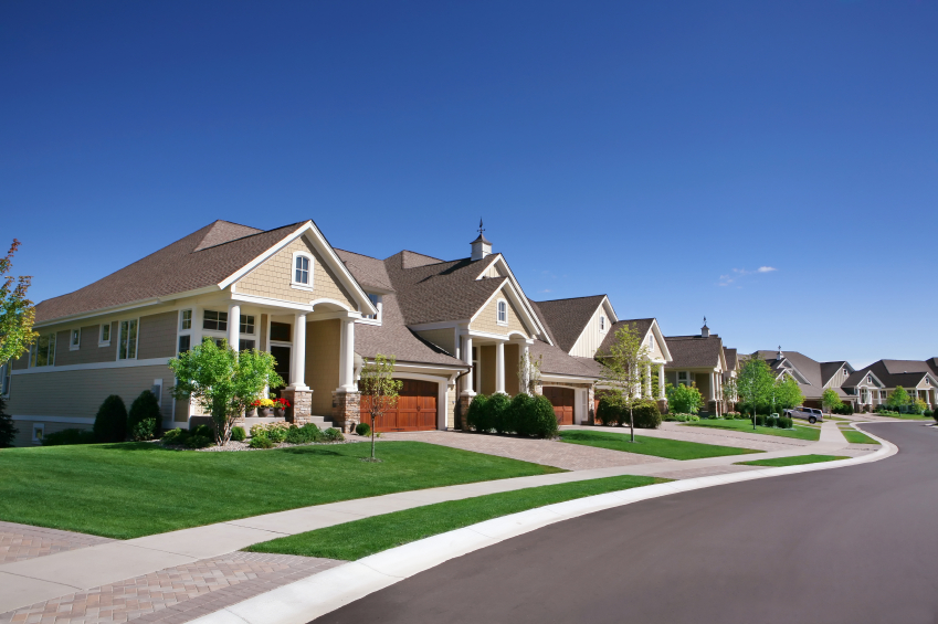 iStock_property houses in street